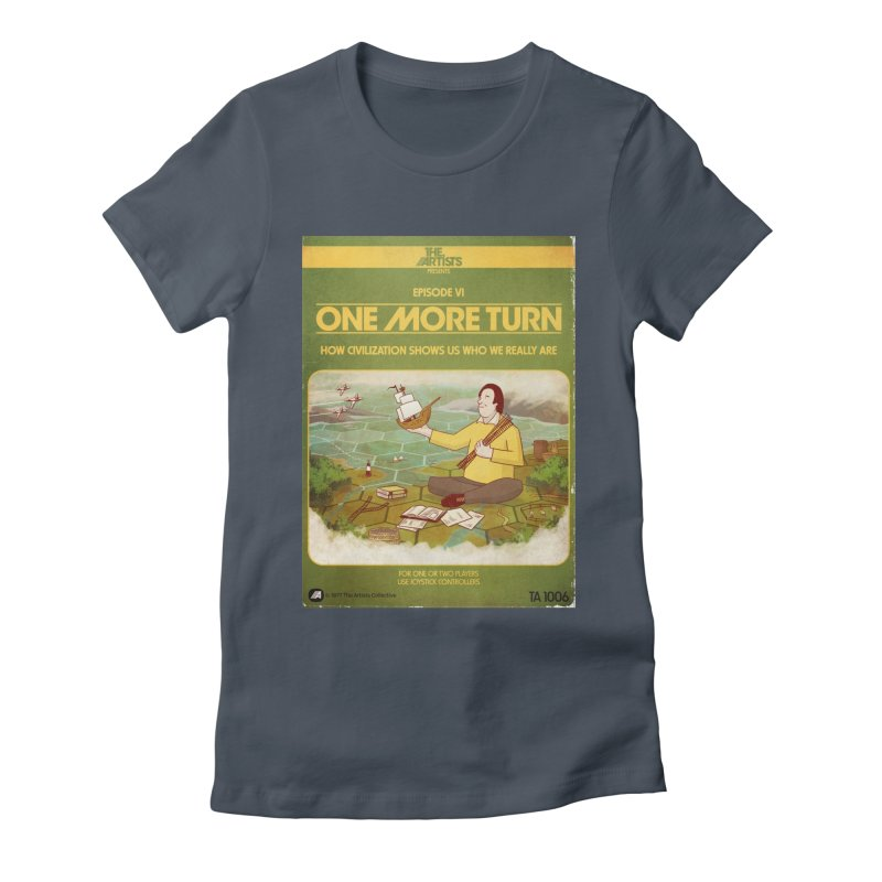 Box Art Apparel Series: One More Turn Women's T-Shirt by The Artists