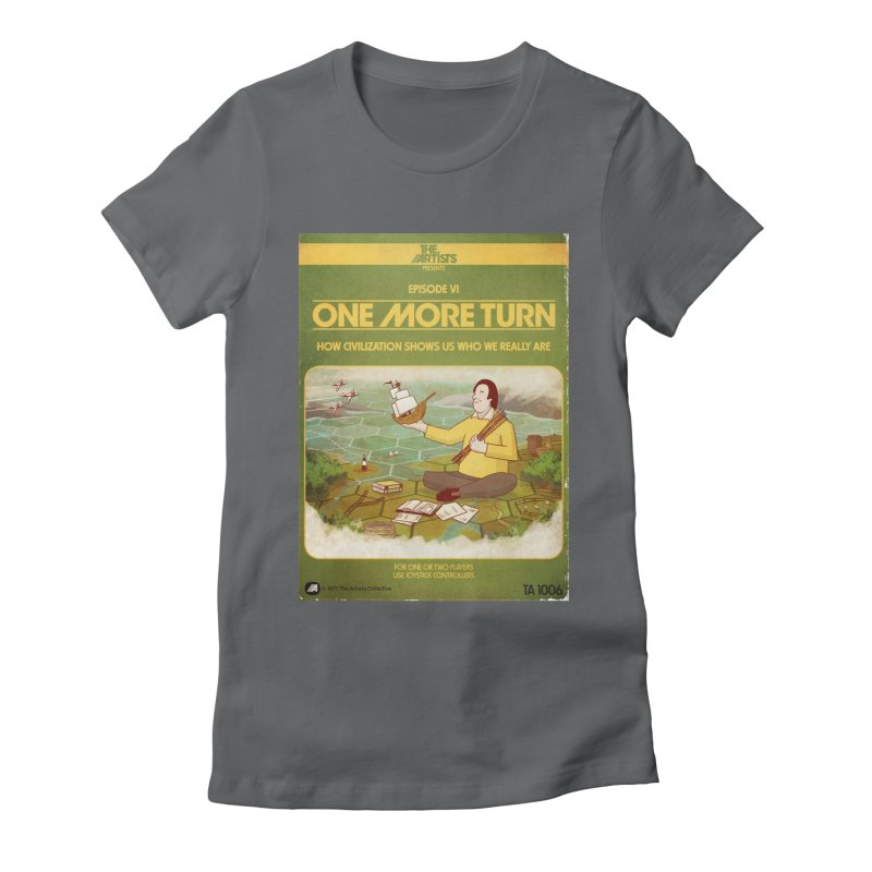 Box Art Apparel Series: One More Turn Women's Fitted T-Shirt by The Artists