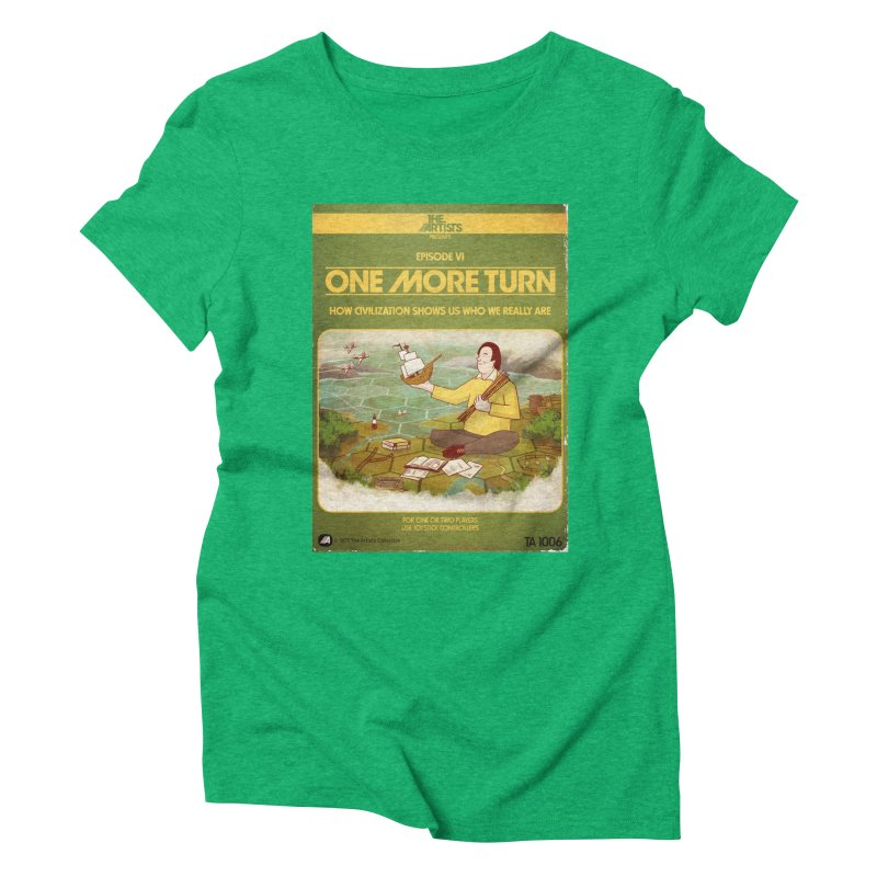 Box Art Apparel Series: One More Turn Women's Triblend T-Shirt by The Artists
