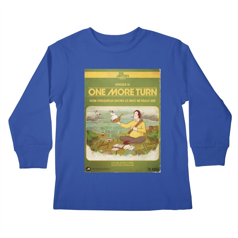 Box Art Apparel Series: One More Turn Kids  by The Artists