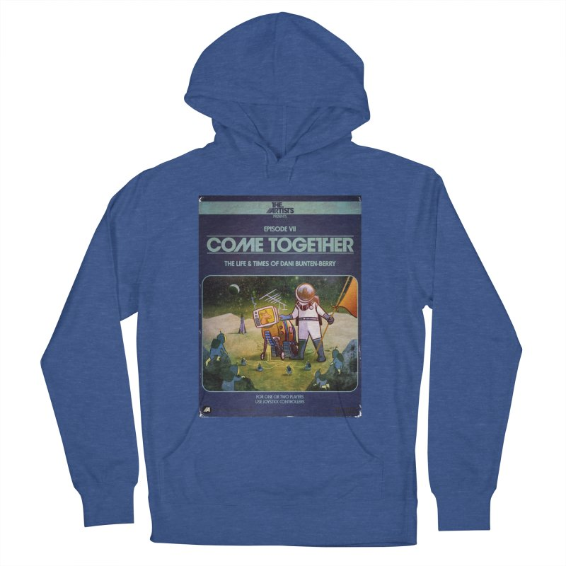 Box Art Apparel Series: Come Together Women's French Terry Pullover Hoody by The Artists