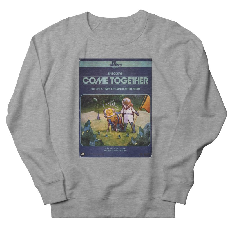 Box Art Apparel Series: Come Together Men's French Terry Sweatshirt by The Artists
