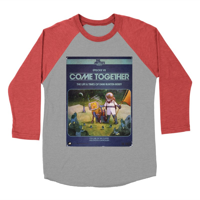 Box Art Apparel Series: Come Together Women's Baseball Triblend Longsleeve T-Shirt by The Artists