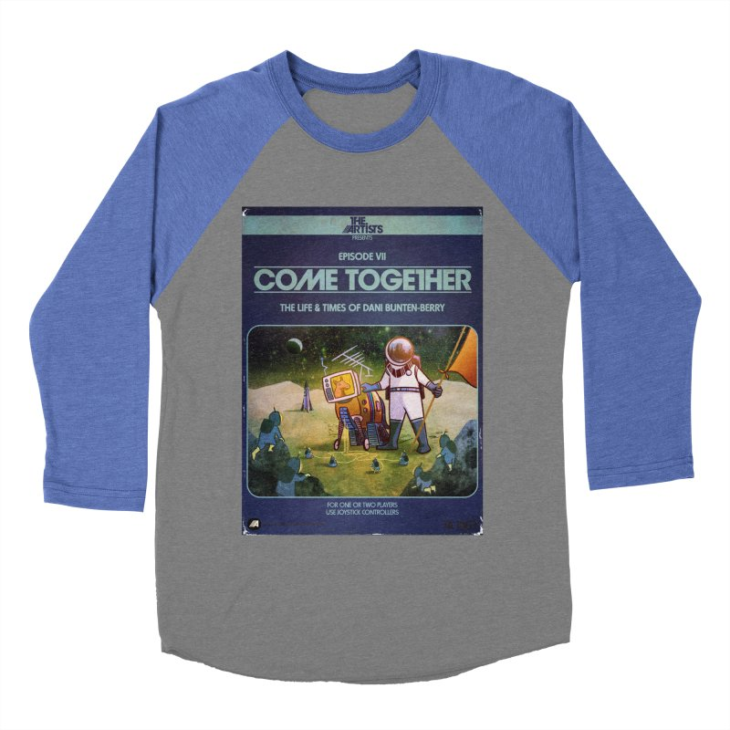 Box Art Apparel Series: Come Together Men's Baseball Triblend Longsleeve T-Shirt by The Artists