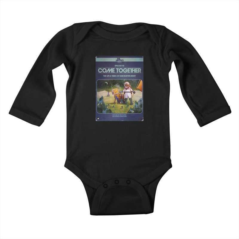 Box Art Apparel Series: Come Together Kids Baby Longsleeve Bodysuit by The Artists