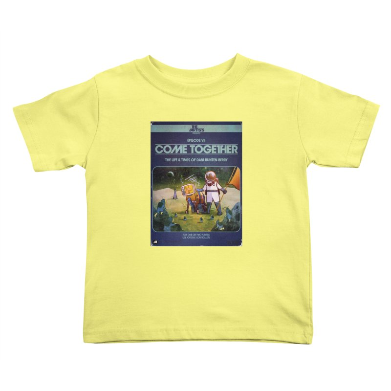 Box Art Apparel Series: Come Together Kids Toddler T-Shirt by The Artists
