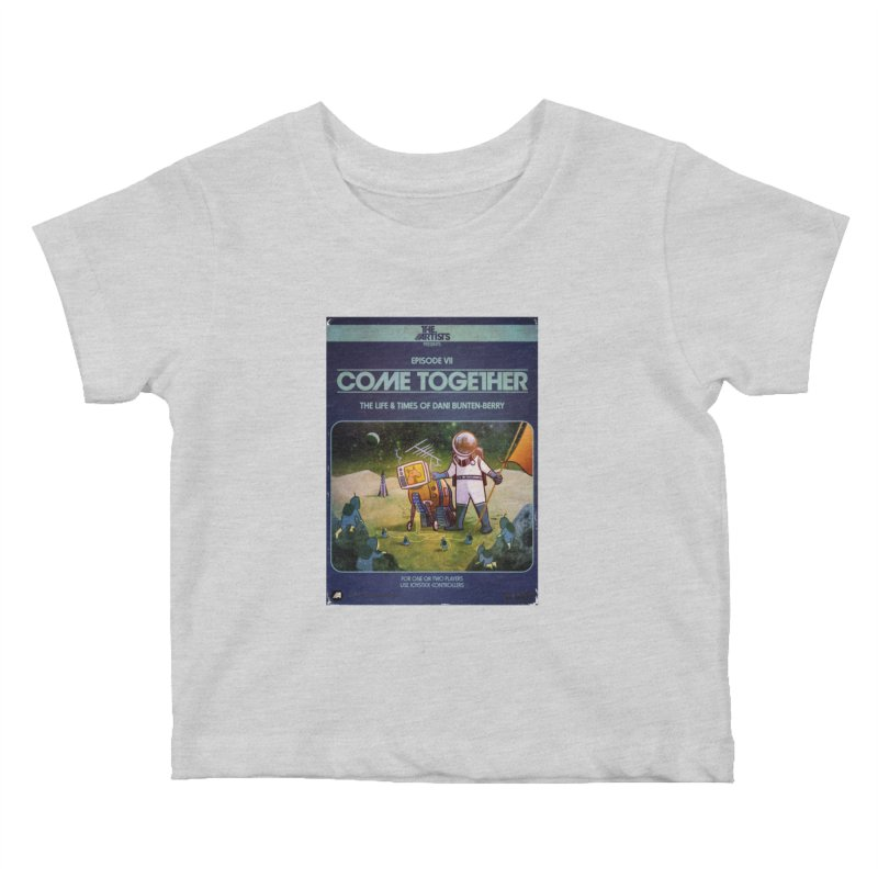 Box Art Apparel Series: Come Together Kids Baby T-Shirt by The Artists