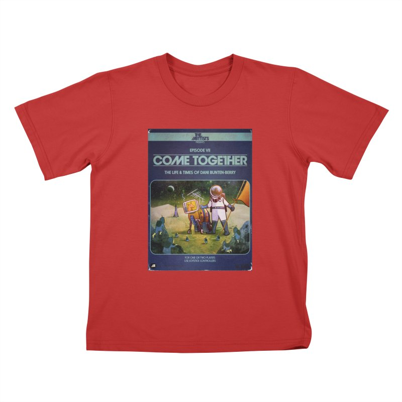 Box Art Apparel Series: Come Together Kids T-Shirt by The Artists