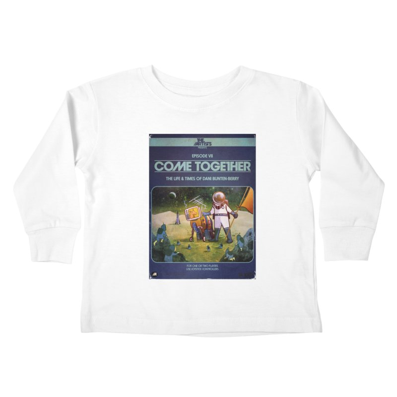 Box Art Apparel Series: Come Together Kids Toddler Longsleeve T-Shirt by The Artists