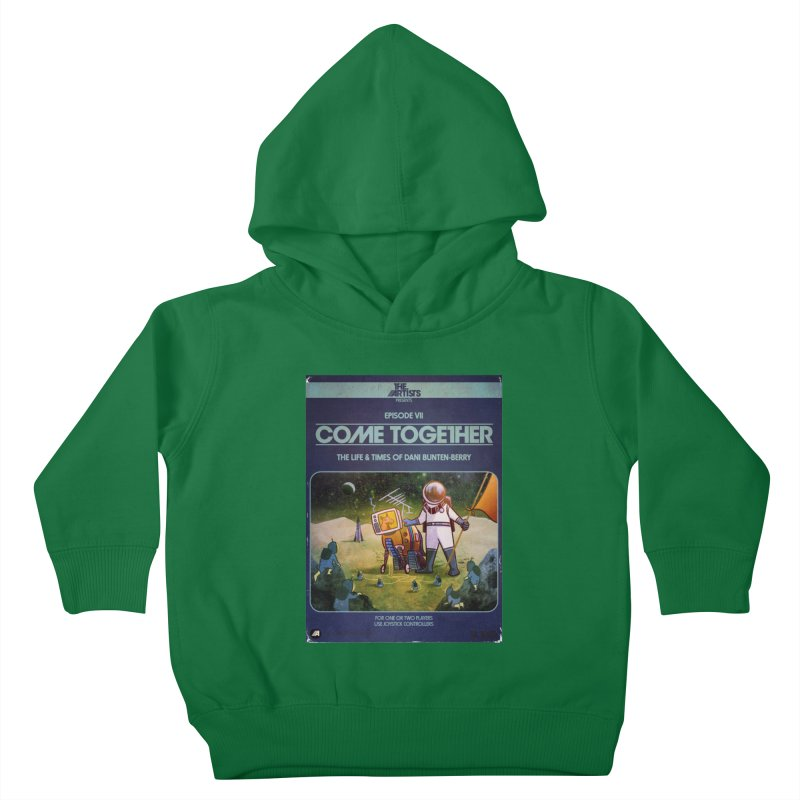 Box Art Apparel Series: Come Together Kids Toddler Pullover Hoody by The Artists