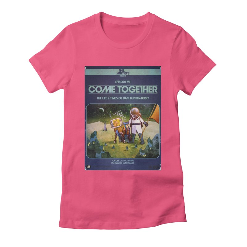 Box Art Apparel Series: Come Together Women's Fitted T-Shirt by The Artists