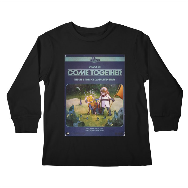 Box Art Apparel Series: Come Together Kids Longsleeve T-Shirt by The Artists