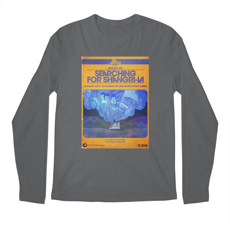 Box Art Apparel Series: Searching for Shangri-La Men's Longsleeve T-Shirt by The Artists