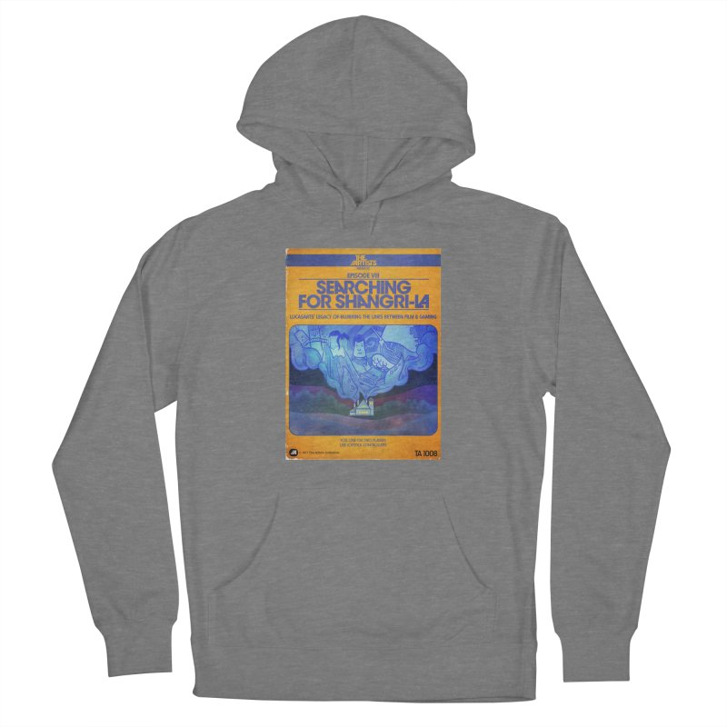 Box Art Apparel Series: Searching for Shangri-La Women's Pullover Hoody by The Artists