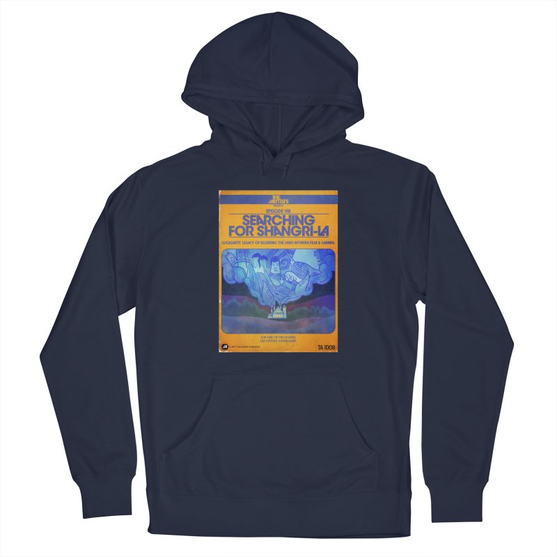 Box Art Apparel Series: Searching for Shangri-La Men's Pullover Hoody by The Artists