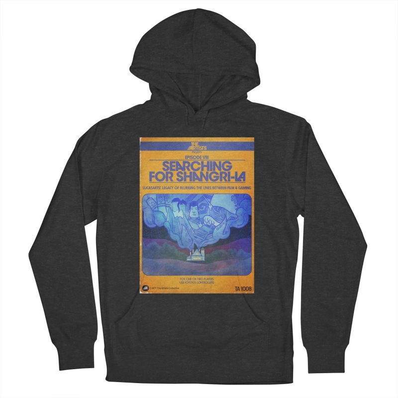 Box Art Apparel Series: Searching for Shangri-La Men's French Terry Pullover Hoody by The Artists