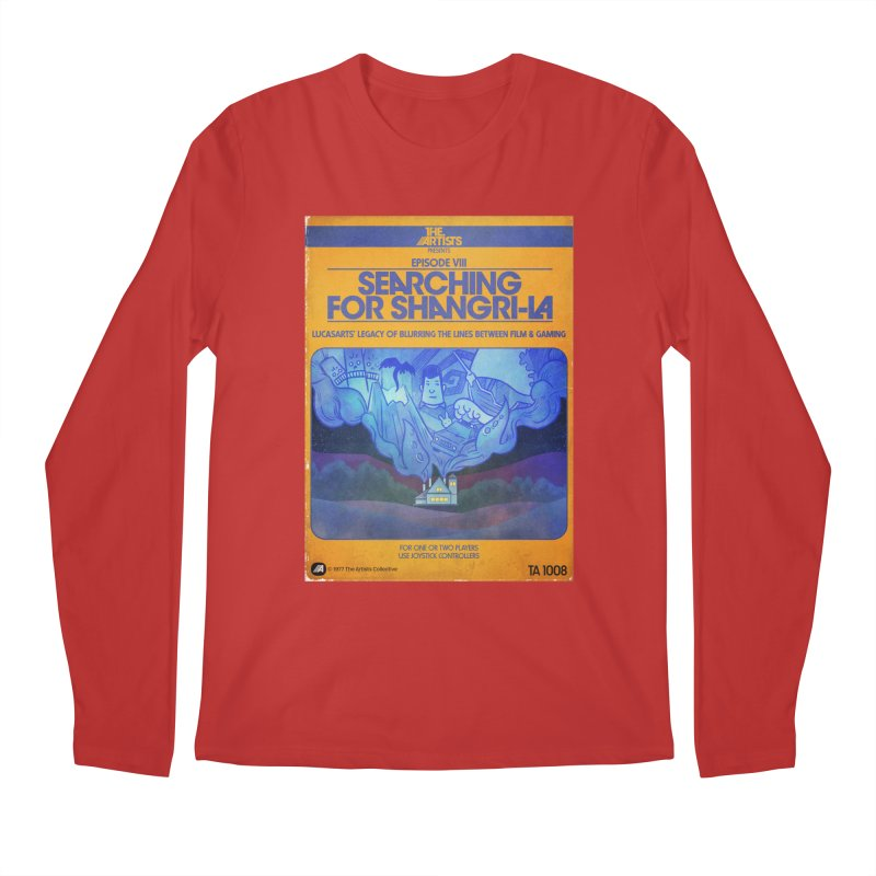 Box Art Apparel Series: Searching for Shangri-La Men's Regular Longsleeve T-Shirt by The Artists