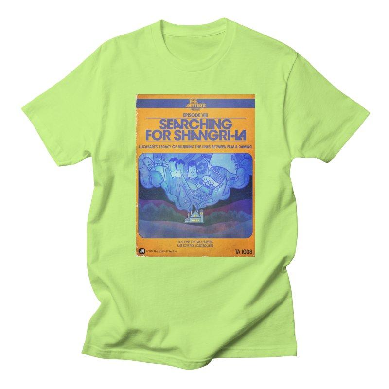 Box Art Apparel Series: Searching for Shangri-La Men's Regular T-Shirt by The Artists