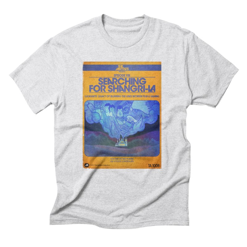 Box Art Apparel Series: Searching for Shangri-La Men's Triblend T-Shirt by The Artists