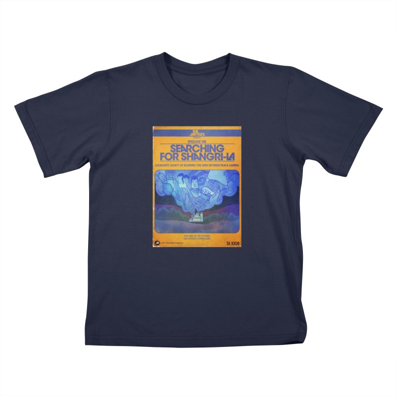 Box Art Apparel Series: Searching for Shangri-La Kids Toddler T-Shirt by The Artists