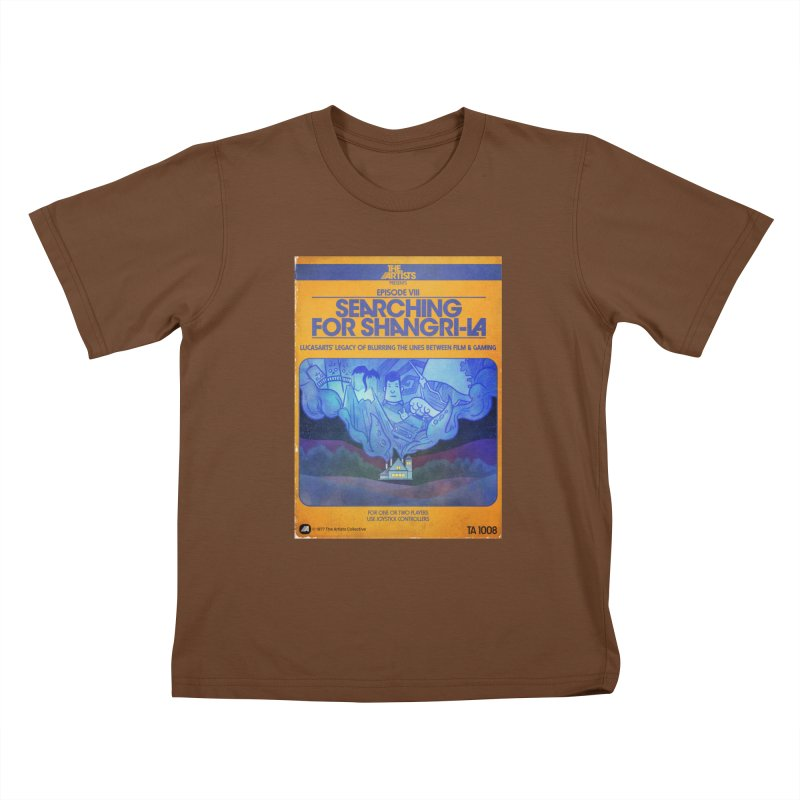 Box Art Apparel Series: Searching for Shangri-La Kids  by The Artists