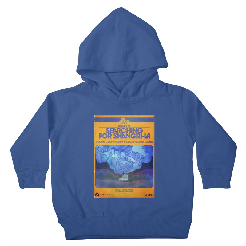 Box Art Apparel Series: Searching for Shangri-La Kids Toddler Pullover Hoody by The Artists