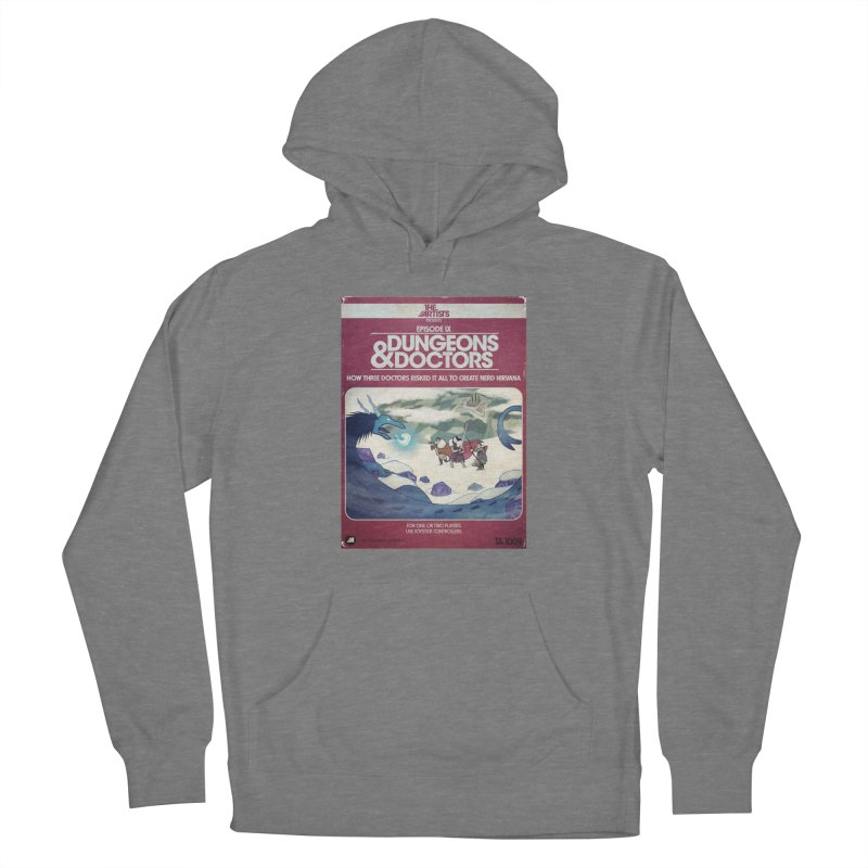 Box Art Apparel Series: Dungeons & Doctors Women's Pullover Hoody by The Artists