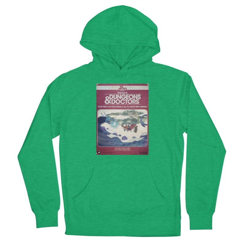 Box Art Apparel Series: Dungeons & Doctors Women's French Terry Pullover Hoody by The Artists