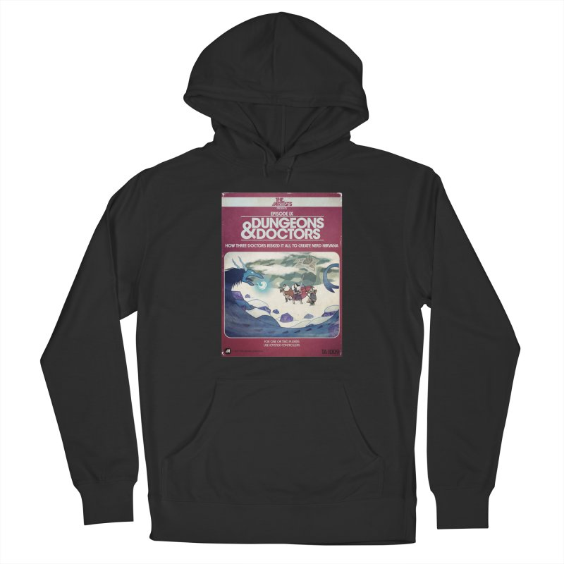 Box Art Apparel Series: Dungeons & Doctors Men's French Terry Pullover Hoody by The Artists
