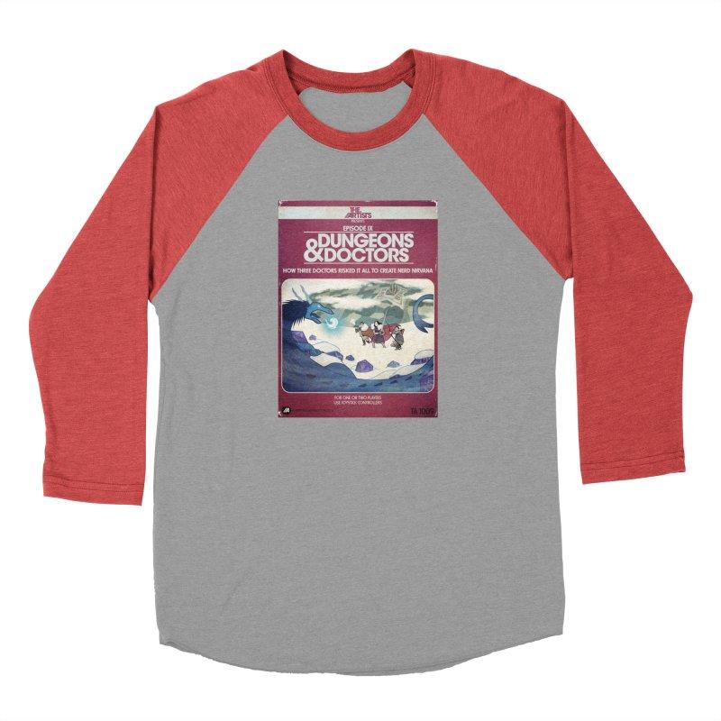 Box Art Apparel Series: Dungeons & Doctors Men's Longsleeve T-Shirt by The Artists