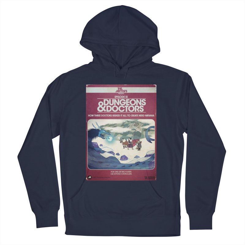 Box Art Apparel Series: Dungeons & Doctors Men's Pullover Hoody by The Artists