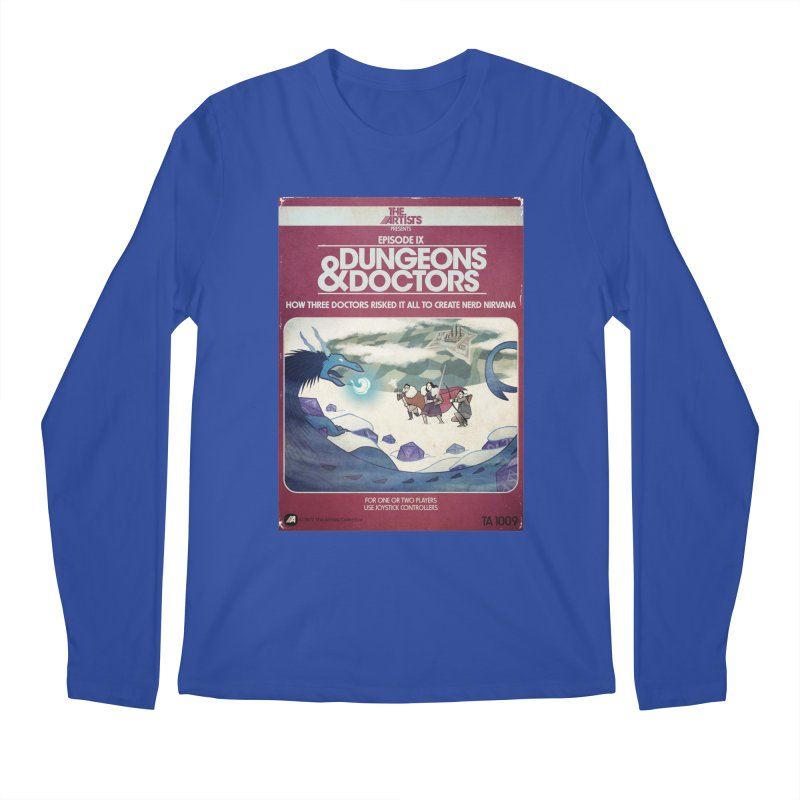 Box Art Apparel Series: Dungeons & Doctors Men's Regular Longsleeve T-Shirt by The Artists