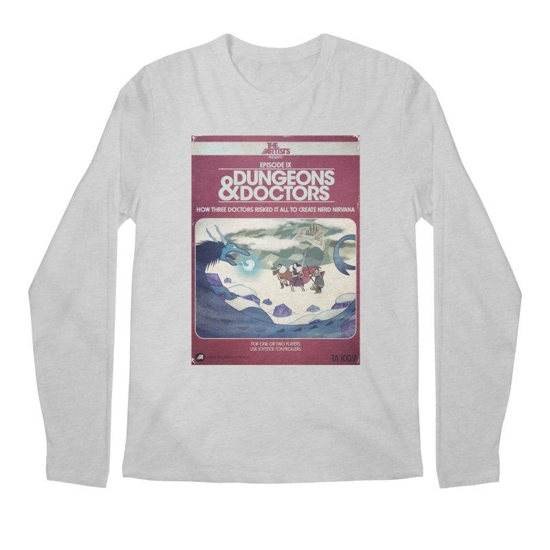 Box Art Apparel Series: Dungeons & Doctors Men's Regular Longsleeve T-Shirt by The Artists