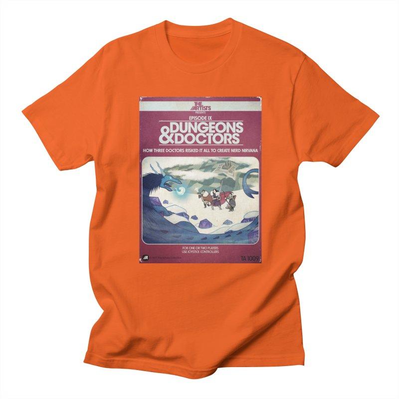 Box Art Apparel Series: Dungeons & Doctors Men's Regular T-Shirt by The Artists