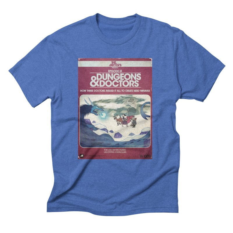Box Art Apparel Series: Dungeons & Doctors Men's T-Shirt by The Artists