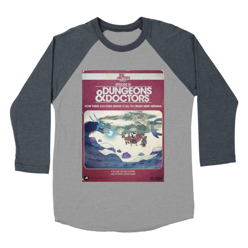 Box Art Apparel Series: Dungeons & Doctors Women's  by The Artists