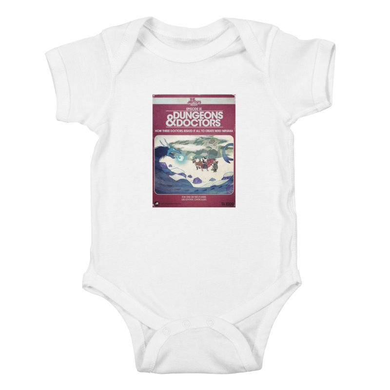 Box Art Apparel Series: Dungeons & Doctors Kids Baby Bodysuit by The Artists