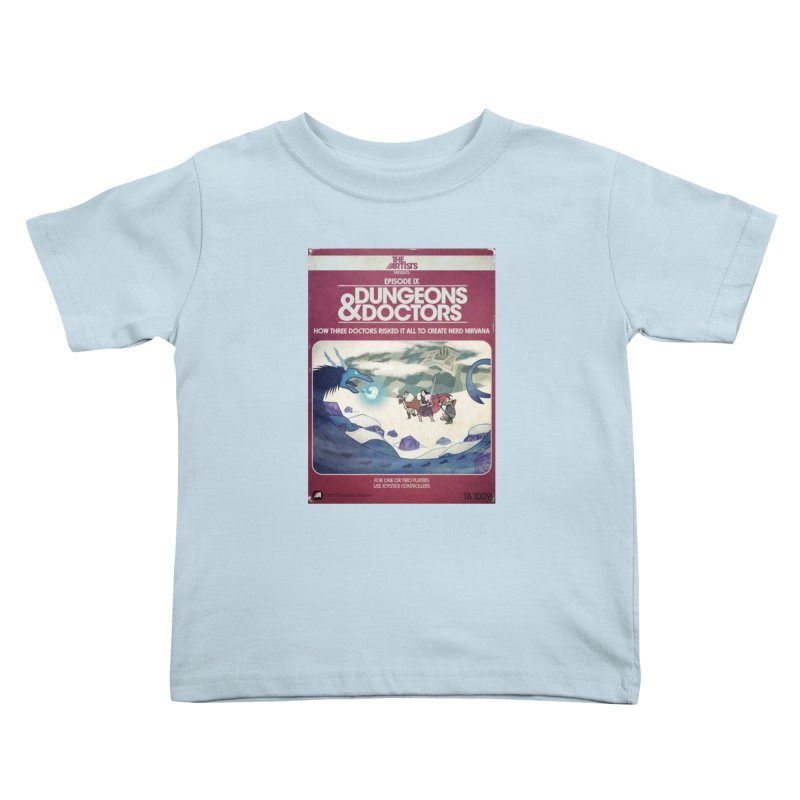 Box Art Apparel Series: Dungeons & Doctors Kids  by The Artists