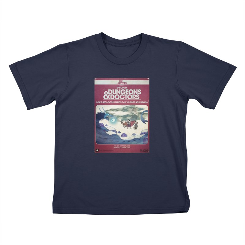 Box Art Apparel Series: Dungeons & Doctors Kids Toddler T-Shirt by The Artists