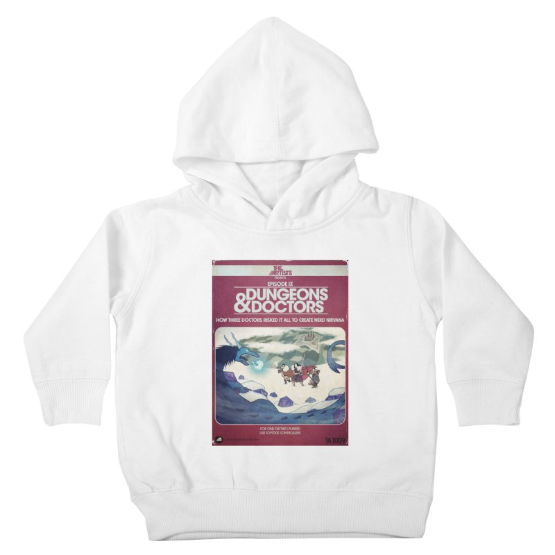 Box Art Apparel Series: Dungeons & Doctors Kids Toddler Pullover Hoody by The Artists