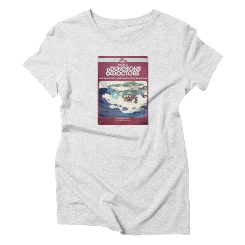 Box Art Apparel Series: Dungeons & Doctors Women's T-Shirt by The Artists