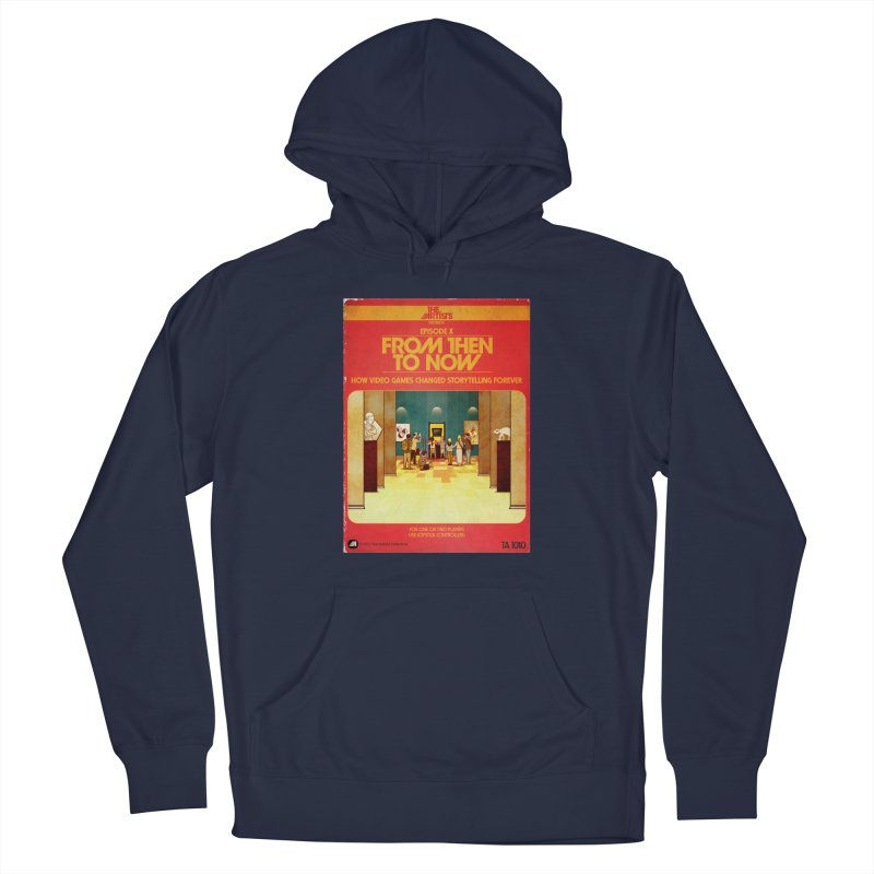 Box Art Apparel Series: From Then to Now Men's Pullover Hoody by The Artists
