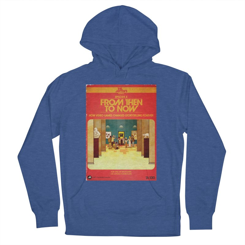 Box Art Apparel Series: From Then to Now Women's French Terry Pullover Hoody by The Artists