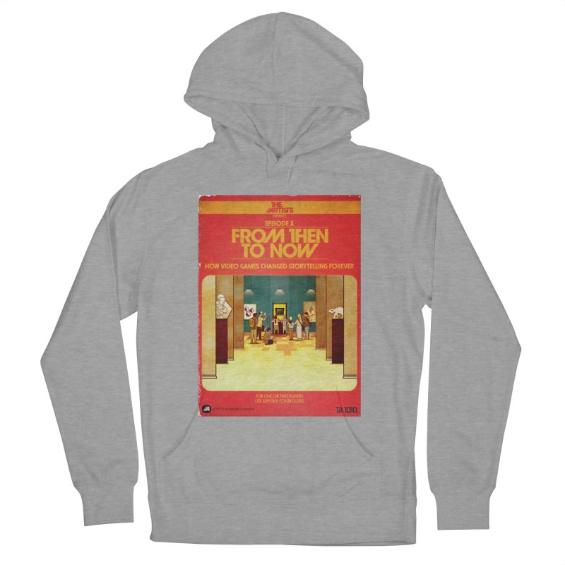 Box Art Apparel Series: From Then to Now Men's French Terry Pullover Hoody by The Artists