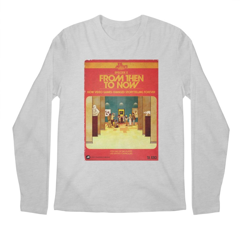 Box Art Apparel Series: From Then to Now Men's Regular Longsleeve T-Shirt by The Artists