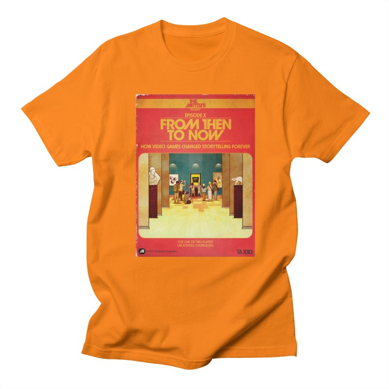Box Art Apparel Series: From Then to Now Men's Regular T-Shirt by The Artists