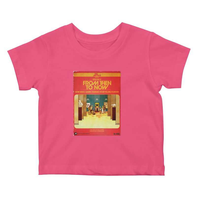 Box Art Apparel Series: From Then to Now Kids  by The Artists