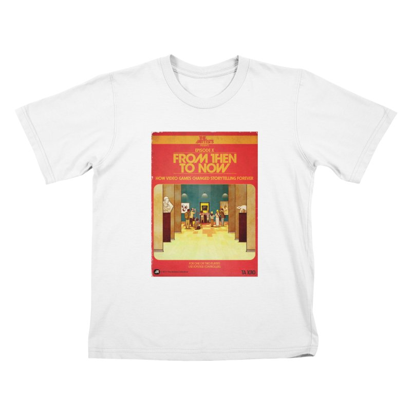 Box Art Apparel Series: From Then to Now Kids T-Shirt by The Artists