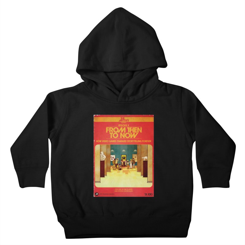 Box Art Apparel Series: From Then to Now Kids Toddler Pullover Hoody by The Artists