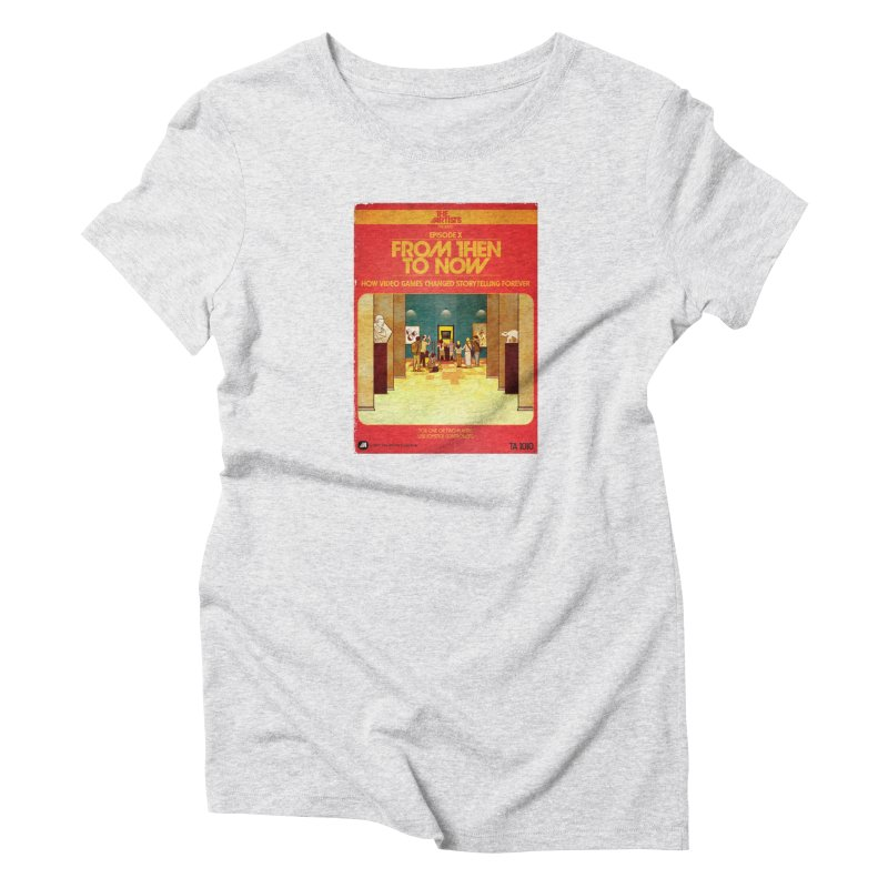 Box Art Apparel Series: From Then to Now Women's T-Shirt by The Artists